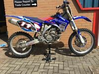 Yamaha yzf 450 motocross bike