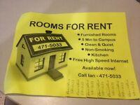 2 rooms left - 1/ 350. 1/400. Close to campus