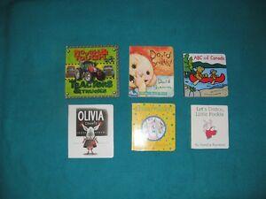 6 Board Books for Kids