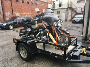 $50 Motorcycle Towing - Industry Professional