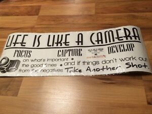 Life is Like A Camera Decal NEW