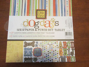 New scrapbooking paper pads 12x12 $10 each