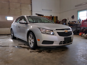 2012 CHEVY CRUZE HEATED LEATHER SEATS