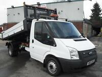 2013 FORD TRANSIT 125PS ONE STOP DROPSIDE TIPPER, 75K MILES, BEST IN UK!!