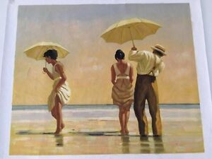 Mad Dogs by Jack Vettriano Oil Painting on canvasreproduction) Mornington Clarence Area Preview