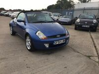 Ford streetka luxury 2004 **full mot sept 2017** **only 45k**