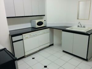 One bedroom bachelor near Uvic