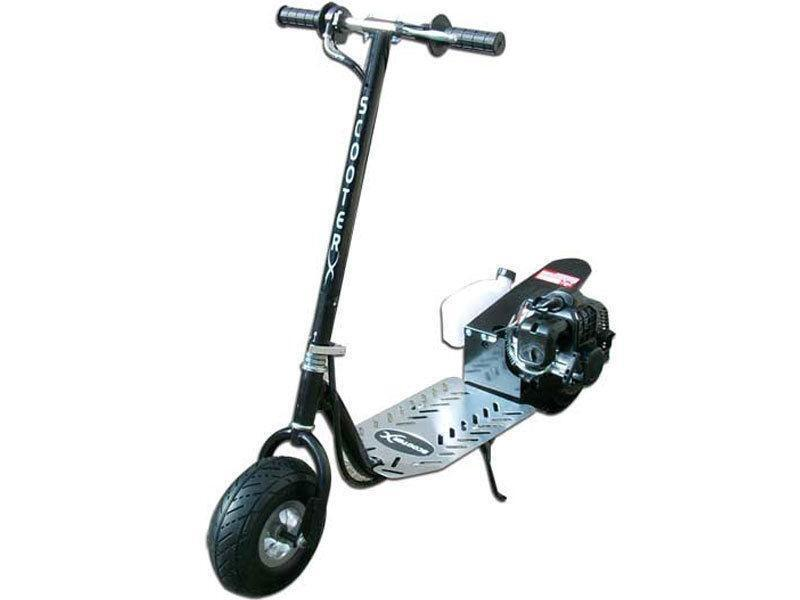 Used gas scooter ebay for Gas powered motorized scooter