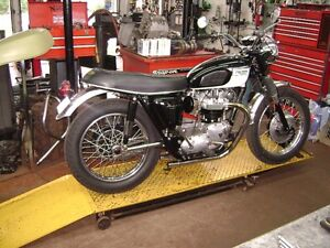 1970  TRIUMPH BONNEVILLE, 67 TT SPECIAL CLONE, NEW EVERYTHING
