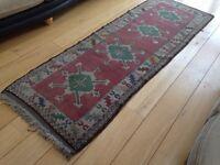 Turkish rug runner