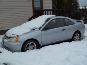 Selling Parts Off 2003 Honda Civic 2 Door Good Engine And More