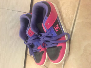 Girls DC sneakers size 3