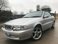 VOLVO C70 GT 2.0 T 20V 2 DOOR*LONG MOT*LOVELY CONDITION*LEATHER*PRIVATE PLATE*