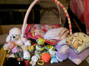 Lot baby toys and items for sale