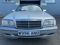 *VERY RARE* 2000 Mercedes-Benz C200 2.0 auto *CLASSIC SELECTION* MOT APRIL 2022