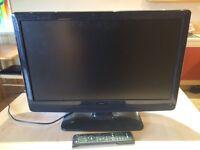 """Bush 24"""" Full HD 1080p digital LCD dvd combi tv"""