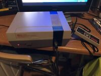 Nintendo nes console & 150 games