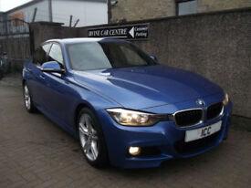 13 13 BMW 318D 2.0 M-SPORT DIESEL 4DR M-SPORT BODYKIT SATNAV £30 TAX LEATHER