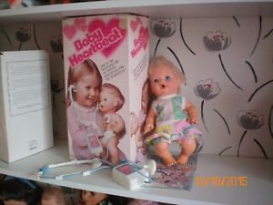 Lot Collection Ancienne Poupée 1977 Bébé Boïte  Kenner