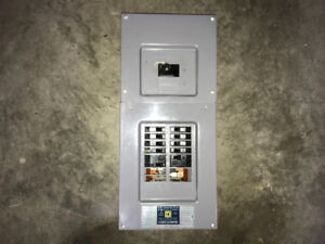 Square D 70 Amp 16 Circuit Panel Includes 10 Breakers!
