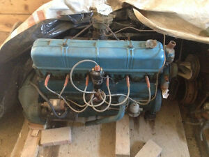1951 Chevy styleline car 216ci inline 6 + lots of parts