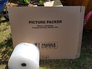 bubble rap and shipping box, NEW