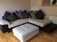 Corner sofa & storage box