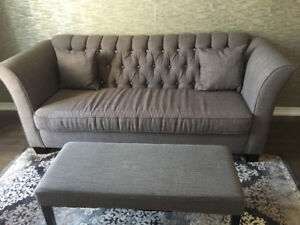 Elegant Sofa and Bench for Sale