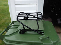 Quick Release luggage rack