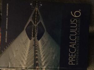 Precalculus - mathematics for calculus 6th edition