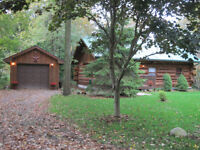 Log Cabin for Sale, Recently Reduced!