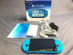 PSVITA SLIM - AQUA BLUE ( Limited Edition)