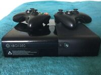 Xbox 360 E with 10 Games!