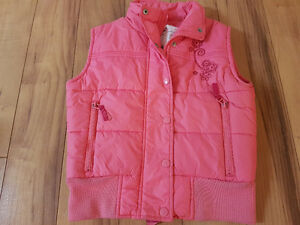 girls coats jackets vest Size 7
