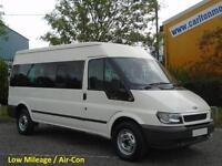 2006/ 06 Ford Transit 9seat Minibus 350L Medium Roof [ Low Mileage+Air Con ] RWD
