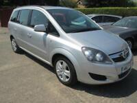 2013 Vauxhall Zafira 1.7 CDTi EcoFlex Exclusiv Silver 7 Seat