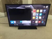 """Luxor 40"""" Smart LED Tv wi-fi warranty free delivery"""