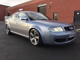 APRIL 2003 AUDI RS6 4.2 V8 BI TURBO FULL SERVICE HISTORY STUNNING EXAMPLE