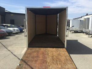 6' x 12' V-Nose Cargo Trailer • 3 Year Warranty • Made in Canada Kitchener / Waterloo Kitchener Area image 8