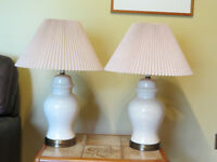 Moving - Must Sell 2 Lamps and Other Items