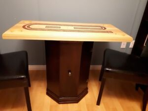 Cribbage - game table with storage