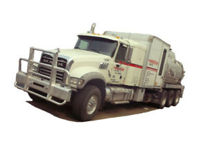 2014 MACK GU714 TRI DRIVE COMBO/VAC  Cash/ trade/ lease to own t