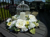 Wedding Bird Cage Centerpiece $50