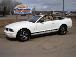 2007 MUSTANG CONVERTIBLE***NEW WHEELS AND TIRES***VERY GOOD COND