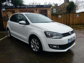 63 REG VOLKSWAGEN POLO 1.2TDI ( 75ps ) MATCH EDITION IN WHITE