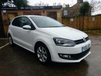 **NEW YEAR SALE**63 REG VOLKSWAGEN POLO 1.2TDI ( 75ps ) MATCH EDITION IN WHITE