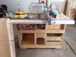 """10"""" Table saw/router combo with accessories"""