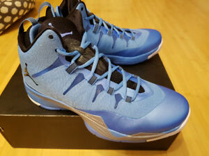 NEW Nike Air Jordan Super Fly 2 University Blue shoes Size 11 NI