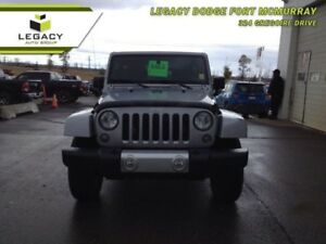 2015 Jeep Wrangler Unlimited SAHARA LEATHER AUTO NAV LOW KM