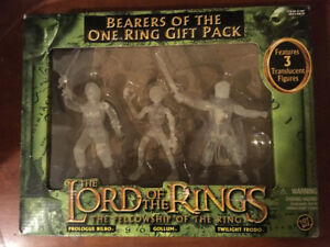 Lord of the Rings- Bearers of the one ring (3 Pack)